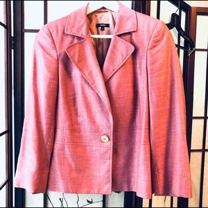 Zanella pink blazer size 8